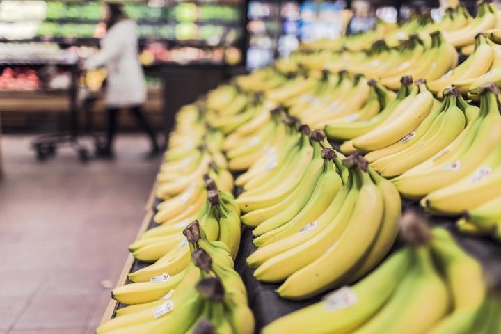 Lebensmittel im Online-Supermarkt