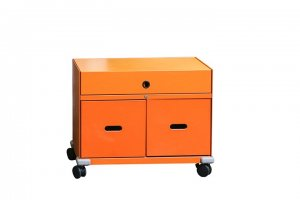 "Ad Hoc ""Pick up"" Rollcontainer in orange mit..."