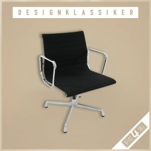 "Aluminium Chair ""EA 108"" von Vitra in Hopsak..."