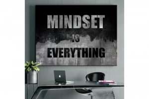 Wandbild Motivation - MINDEST IS EVERYTHING